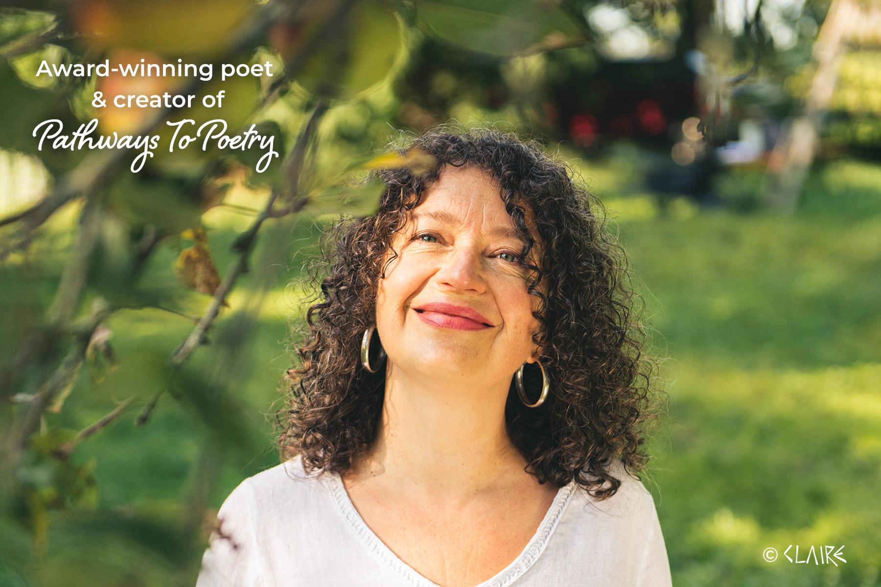 Heidi Sander award-winning poet and creator of Pathways To Poetry multimedia online poetry program